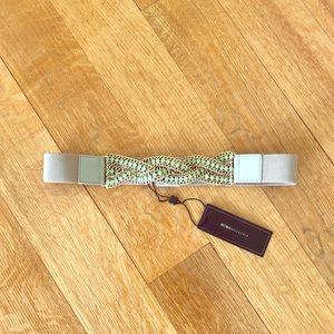 BCBGMAXAZRIA stretchy belt